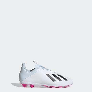 Calzado de Fútbol X 19.4 Multiterreno Blanco Niño Fútbol