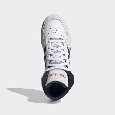 Heren Sportswear Wit Entrap Mid Schoenen