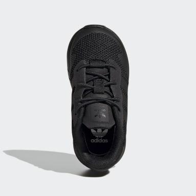 Kids Originals Black ZX 1K Shoes