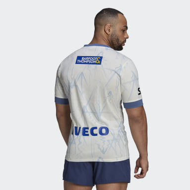 Maillot Blues Rugby Primeblue Alternate Replica Blanc Hommes Rugby