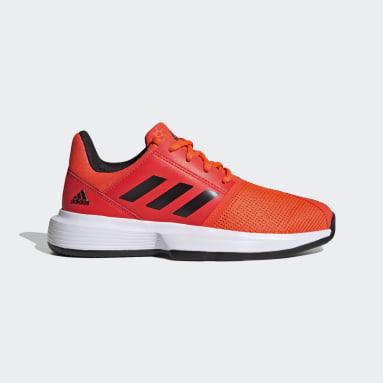 Youth Tennis Orange CourtJam Tennis Shoes