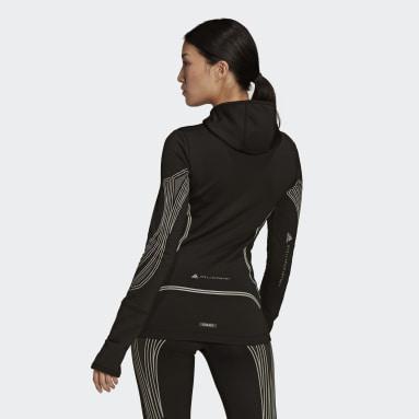 Women adidas by Stella McCartney Black adidas by Stella McCartney TruePace Midlayer COLD.RDY Jacket