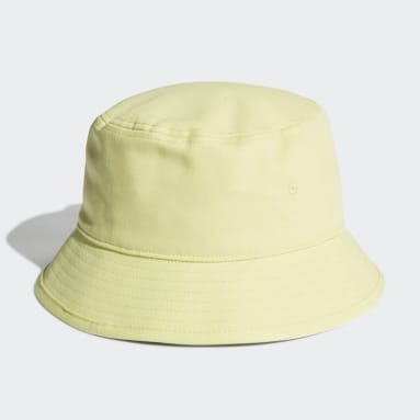 Cappello adicolor Trefoil Bucket Giallo Originals