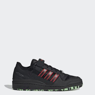 Originals Black Forum Low Shoes