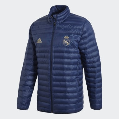 Chamarra Real Madrid Edición Especial Azul Hombre Fútbol