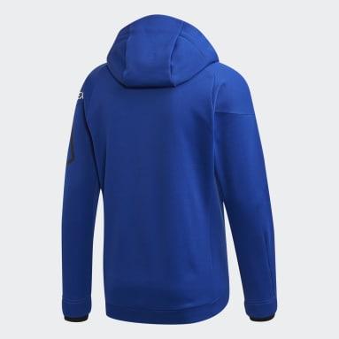 Men TERREX Blue Terrex DSV Polartec Power Air Fleece Jacket