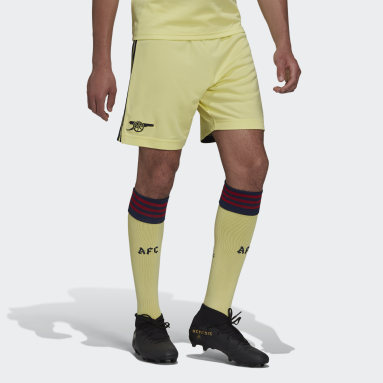 Short Extérieur Arsenal 21/22 Jaune Football