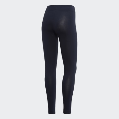 Women's sport_inspired Blue Essentials Linear Tights