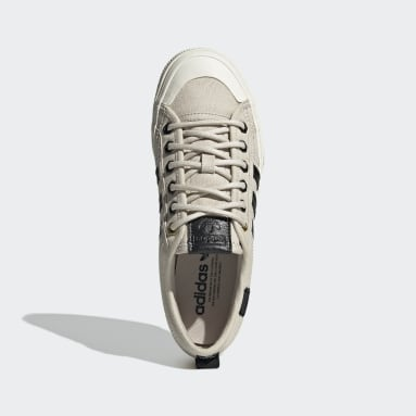 Women Originals Beige Nizza Platform Shoes