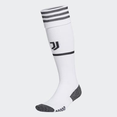 Chaussettes Domicile Juventus 21/22 Blanc Football