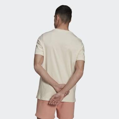 T-shirt Graphics Trefoil Series Bianco Uomo Originals