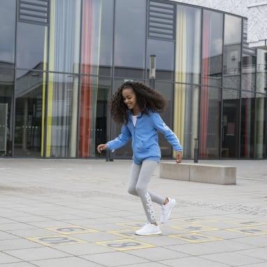 Children Running White Runfalcon Shoes