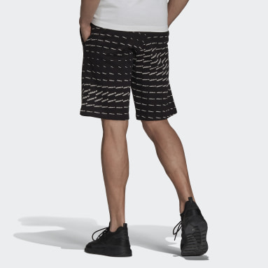 Pantalón corto Graphics Monogram Negro Hombre Originals