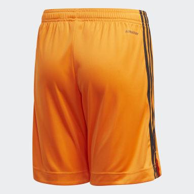 Kinder Fußball Juventus Turin 20/21 Ausweichshorts Orange