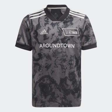 Camiseta segunda equipación 1. FC Union Berlin 21/22 Gris Niño Fútbol