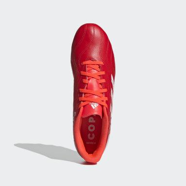 Men Soccer Red Copa Sense.4 Flexible Ground Cleats