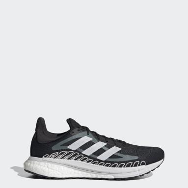 Men's Running Black SolarGlide ST Shoes