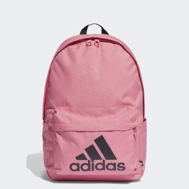 Lifestyle Pink Classic Badge of Sport Backpack