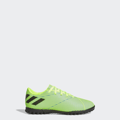 Zapatos de fútbol Nemeziz 19.4 Pasto Sintético Verde Niño Fútbol