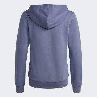 Chaqueta con capucha adidas Essentials Violeta Niña Sportswear