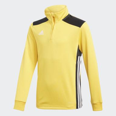 Camiseta entrenamiento Regista 18 Oro Niño Fútbol