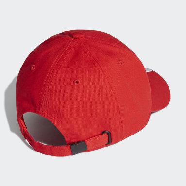 Cappellino Baseball Benfica Rosso Calcio