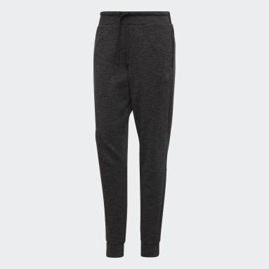 Pantaloni ID Mélange Nero Donna Sportswear