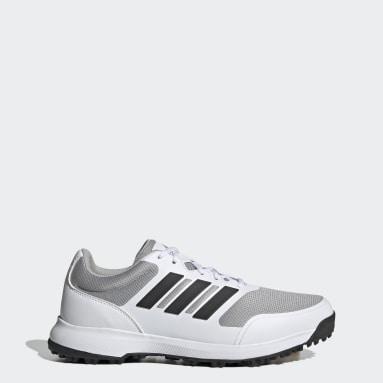Men Golf White Tech Response SL Spikeless Golf Shoes