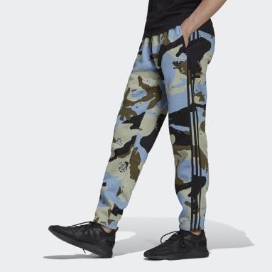 Pantalón Graphics Camo Azul Hombre Originals