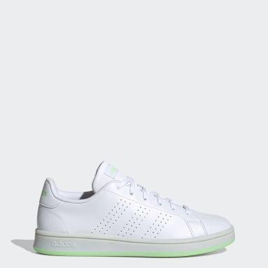 Women Sport Inspired White Advantage Base Shoes
