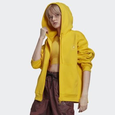 Women adidas by Stella McCartney Yellow adidas by Stella McCartney SC Full Zip Hoodie
