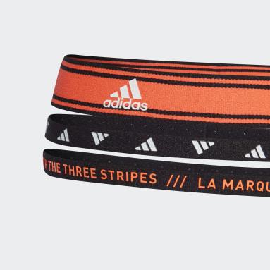Volleyball Orange Training Headbands 3 Per Pack