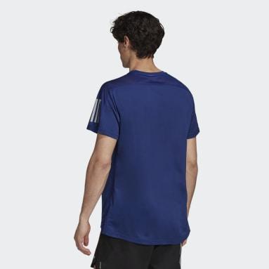 Playera Own the Run Azul Hombre Running