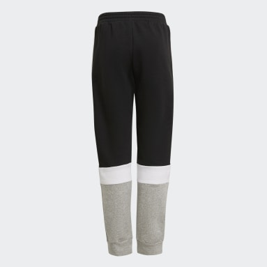 Youth 8-16 Years Sportswear Black adidas Essentials Colorblock Joggers