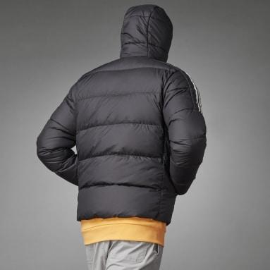 Giacca imbottita con cappuccio Essentials Midweight Nero Uomo City Outdoor
