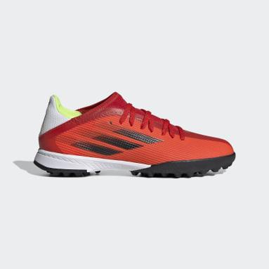 Kids Football Red X Speedflow.3 Turf Boots