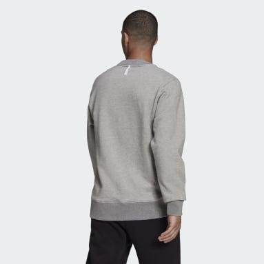 Sweat-shirt adidas Sportswear Comfy & Chill Gris Hommes Sportswear