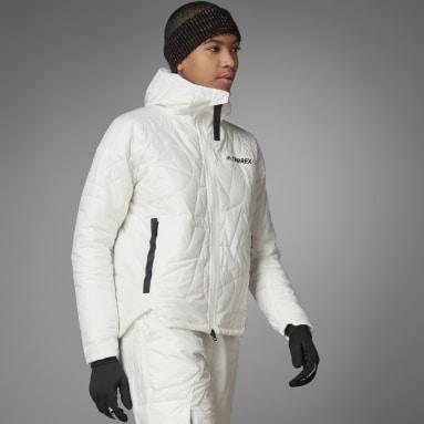 Veste Terrex MYSHELTER PrimaLoft Hooded Padded Blanc Femmes TERREX
