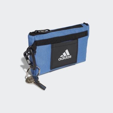 Fitness Og Træning Blå Tiny Tote taske