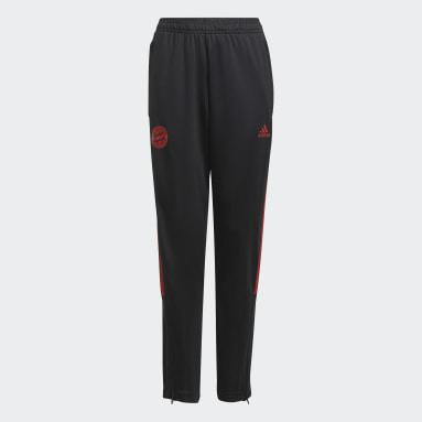 Pantaloni da allenamento Tiro FC Bayern München Nero Bambini Calcio