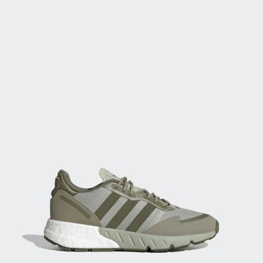 Youth Originals Green ZX 1K Boost Shoes