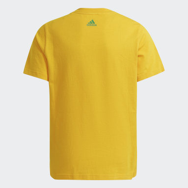 Camiseta Essentials Ouro Meninos Training