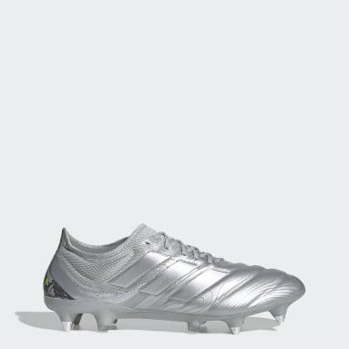 Women Football Silver Copa 20.1 Soft Ground Boots