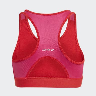 Reggiseno sportivo Designed 2 Move Rosso Ragazza Fitness & Training