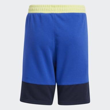 Kids 4-8 Years Basketball Blue Lil Stripe Shorts