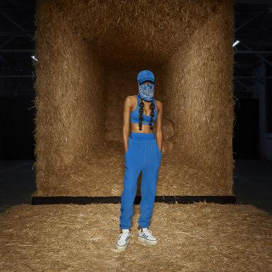 Brassière IVY PARK Medium-Support Cutout Bleu Femmes Originals