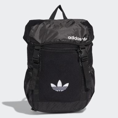 Originals Black Premium Essentials Toploader Backpack