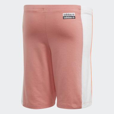 Boys Originals Pink Cycling Shorts
