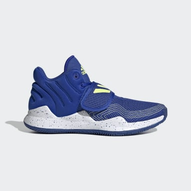 Youth Basketball Blue Deep Threat Primeblue Shoes