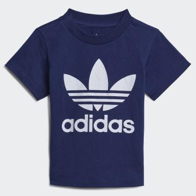 Kinderen Originals Blauw Trefoil T-shirt